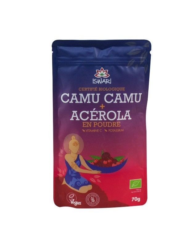 CAMU CAMU + ACEROLA 70GR BIO