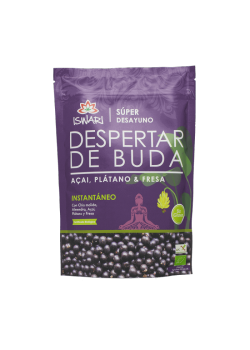 DESPERTAR DE BUDA ACAI PLATANO Y FRESA 360GR BIO - ISWARI - 5600244397666
