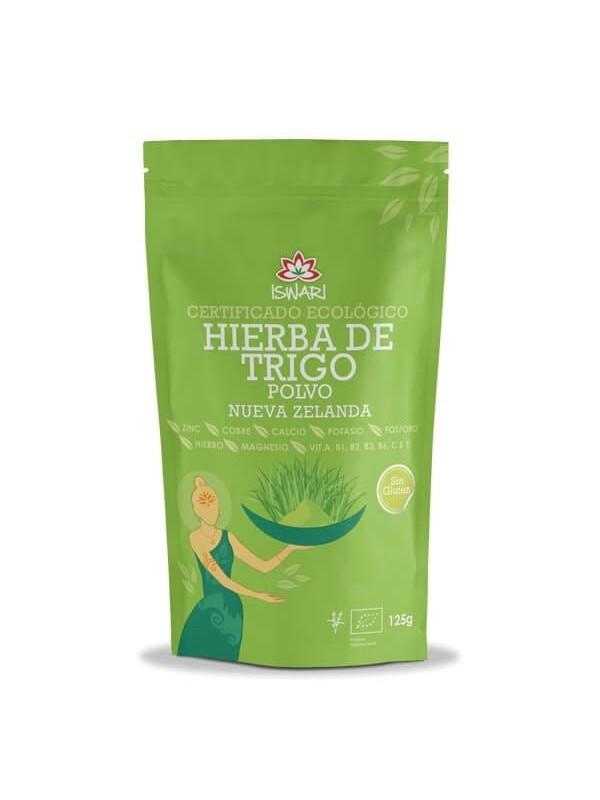 HIERBA DE TRIGO EN POLVO 125GR