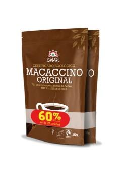 **MACACCINO DUPLO 2X250GR BIO - ISWARI - 5600317472108