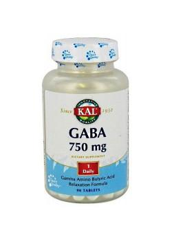 GABA 750MG 90 COMPRIMIDOS - KAL - 021245560388