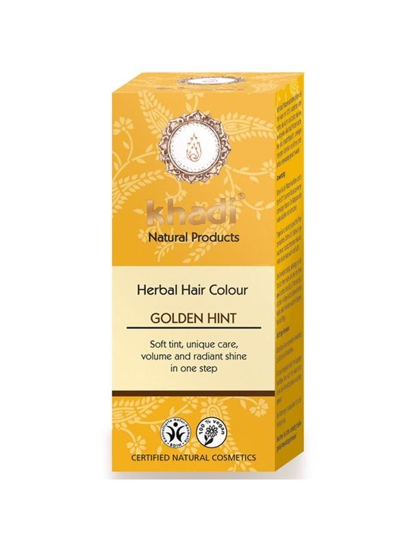 HENNA TOQUE DORADO 100GR BIO - KHADI - 4260378040039