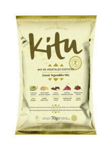MIX DE VEGETALES EXOTICOS 70GR  - KITU - 8437017578017