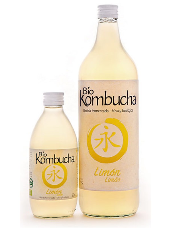 KOMBUCHA LIMON 1L BIO