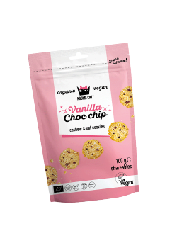 MINI GALLETAS VAINILLA CHOCOLATE 100GR BIO - KOOKIE CAT - 3800233686487