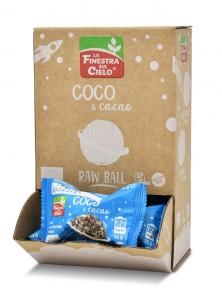ENERGY BALL COCO & CACAO 25GR BIO - LA FINESTRA SUL CIELO - 8436545623831