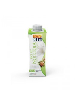 BEBIDA MINI AVELLANAS 250ML BIO - ISOLA BIO - 8023678427162