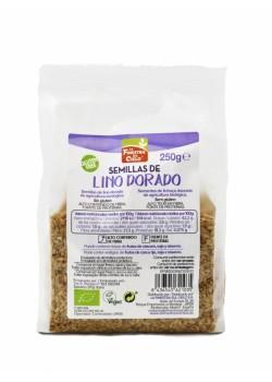 SEMILLAS DE LINO DORADO 250GR BIO - LA FINESTRA SUL CIELO - 8436545621035