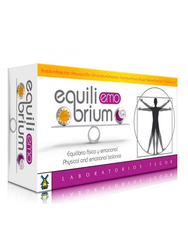 EQUILIBRIUM EMO 60 CAPSULAS - LABORATORIO TEGOR - 8429007052928