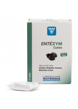 CUBOS TRANSITO INTESTINAL ENTEZYM 12 UNIDADES  - LABORATORIOS NUTERGIA  - 8436031734119