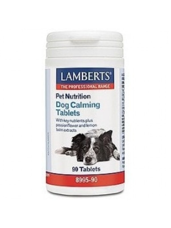 DOG CALMING 90 COMPRIMIDOS - LAMBERTS - 5055148411169