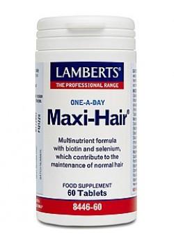 MAXI HAIR (BIENESTAR DEL CABELLO) 60 TABLETAS - LAMBERTS - 5055148412548