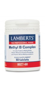 METHYL B COMPLEX 60 TABLETAS - LAMBERTS - 5055148410698