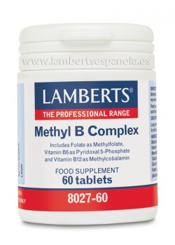 METHYL B COMPLEX 60 TABLETAS - LAMBERTS - 5055148410698