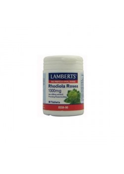 RHODIOLA ROSEA 1000MG 90 COMPRIMIDOS - LAMBERTS - 5055148411855