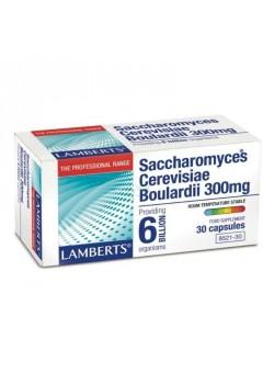 SACCHAROMYCES BOULARDII 30 CAPSULAS - LAMBERTS - 5055148410834