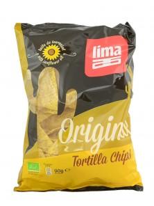 TORTILLA CHIPS ORIGINAL 90GR BIO - LIMA - 5411788046374