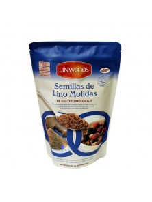 SEMILLAS DE LINO MOLIDO BIO 425GR - LINWOODS - 5016887003503