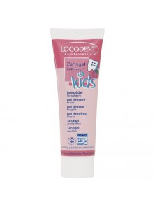 DENTIFRICO GEL FRESA KIDS 50ML BIO - LOGONA - 4017645042346