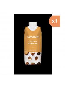 **COLD BREW CAFFE LATTE 330ML BIO - LOVERAW - 5060462260133