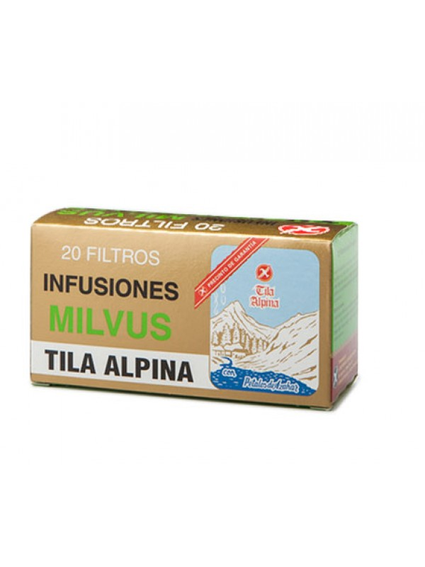 TILA ALPINA 20 FILTROS - MILVUS - 8470002112193