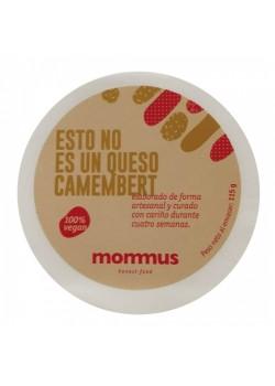 CAMEMBERT CURADO VEGANO 115GR - MOMMUS - 705632749401