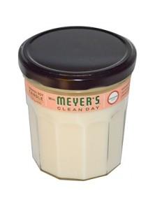 VELA DE SOJA CON ACEITE GERANIO -MRS  MEYER'S CLEAN DAY - 808124431164