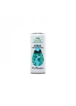 AGUA MINERAL 0% PLASTICO 33OML - NATIVE ORGANICS - 8437019525057