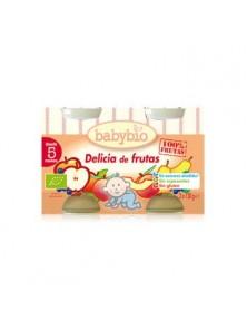 DELICIAS FRUTAS BIPACK 2X130GR BIO - BABYBIO - 3288131513782