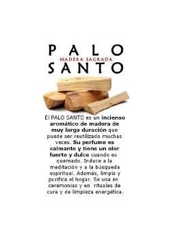 PALO SANTO 30GR - NATURAL