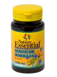 **BORRAJA 1000 MG. 30 PERLAS - NATURE ESSENTIAL - 8435041320794