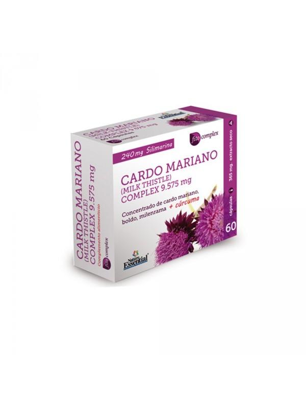 CARDO MARIANO COMPLEX 9575MG EXTRACTO SECO 60 CAPSULAS - NATURE ESSENTIAL - 8435041324259