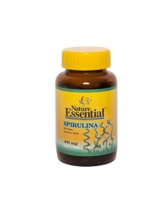 ESPIRULINA 400 MG. 100 TABLETAS - NATURE ESSENTIAL - 8435041320268