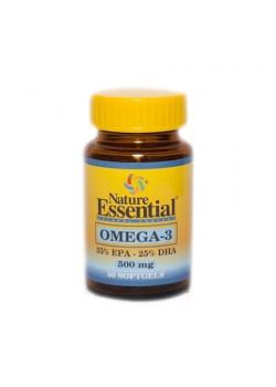 OMEGA-3 ( EPA 35% / DHA 25% ) 500 MG. 50 PERLAS - NATURE ESSENTIAL - 8435041322781