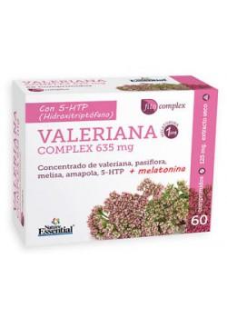 VALERIANA COMPLEX 635MG EXTRACTO SECO 60 CAPSULAS - NATURE ESSENTIAL - 8435041324419