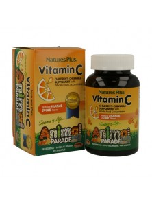 ANIMAL PARADE VITAMINA C 90 COMPRIMIDOS - NATURES PLUS - 097467299986