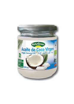 **ACEITE DE COCO VIRGEN BIO 400GR - NATURGREEN - 8436542190640