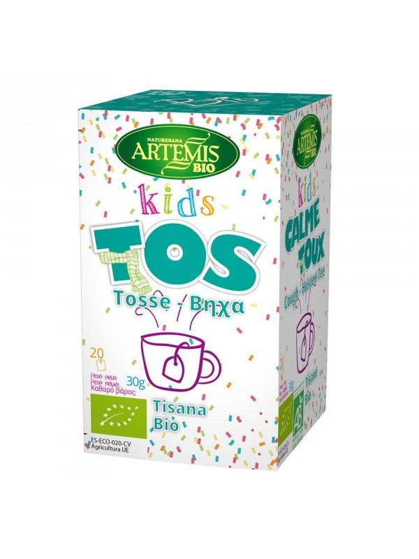 INFUSION TOS KIDS 20 FILTROS BIO - ARTEMIS - 8428201311008