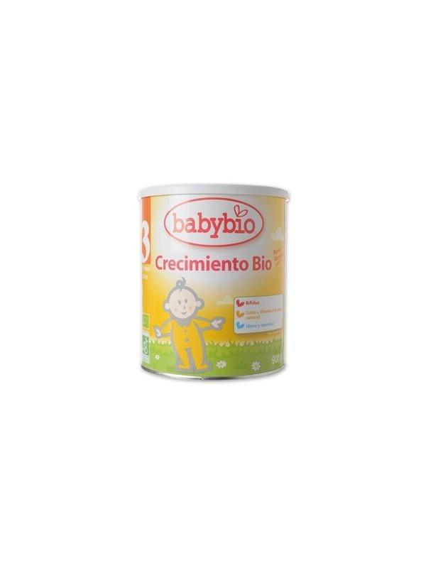 LECHE BIOLOGICA DE CRECIMIENTO 3 900GR BIO - BABYBIO - 3288131503059