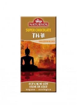 SUPER CHOCOLATE THAI 60% CACAO 100GR BIO - NATURSOY - 8428159104288