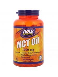MCT OIL 'SPORT' 1000 MG 150 CÁPSULAS BLANDAS - NOW FOODS - 733739021960