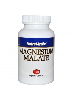 MAGNESIUM MALATE 120 CÁPSULAS - NUTRAMEDIX - 728650053190
