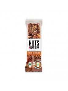 BARRITA NUECES CANELA 30GR BIO - NUTS & BERRIES - 5425036870635