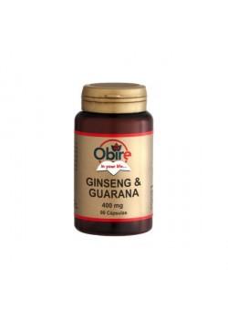 GINSENG + GUARANA 400 MG. 90 CAPSULAS - OBIRE - 8435041340426