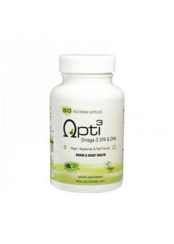 OMEGA 3 EPA & DHA 100% VEGANO - OPTI3 - 5060351380119