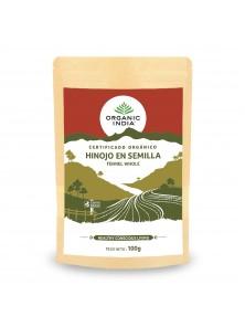 SEMILLAS DE HINOJO 100GR BIO - ORGANIC INDIA - 801541506316