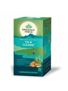 TULSI CLEANSE 25 BOLSITAS BIO - ORGANIC INDIA - 801541507573