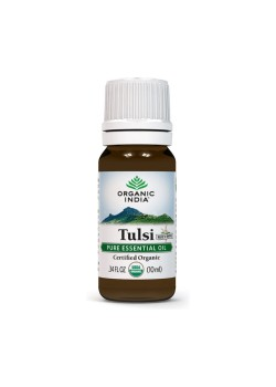 TULSI ACEITE ESENCIAL 10ML BIO - ORGANIC INDIA - 801541507979