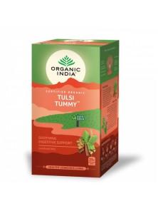 TULSI TUMMI 25 BOLSITAS BIO - ORGANIC INDIA - 801541507603
