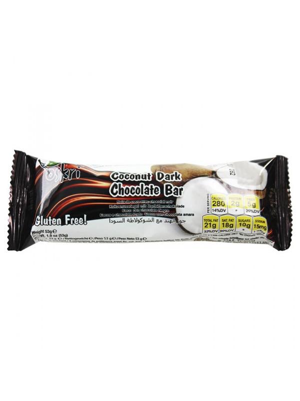 BARRITA DE COCO Y CHOCOLATE NEGRO 53GR - OSKRI